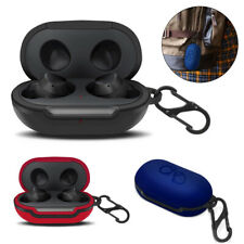 For Samsung Galaxy Buds Earphone Silicone Shockproof Case Cover With Carabiner