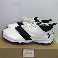 Under Armour Womens Size 10.5 Lacrosse Turf Shoes Finisher (1278784-101) Read