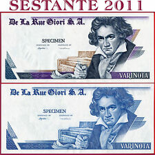 (com) TEST NOTE THOMAS DE LA RUE GIORI - TDLR - Varinota Beethoven - UNC Perfect