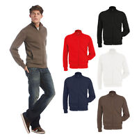 B&C Collection Men's Spider Sweatshirt WM646 - Sport Zip Collar Light Jacket