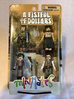A Fistful of Dollars Minimates 4 Pack Clint Eastwood Diamond Select 2008 NOC