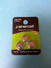 Enercell 386 Silver-Oxide Batteries (3-Pack) 1.55V 2301760 New