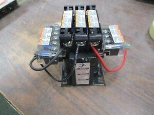 Square D Transformer 9070TF100D19 0.100KVA Pri:208-480V Sec: 24V 50/60Hz Used
