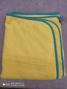 NEW Norwex Towel for Kids, Super Soft Microfiber Yellow Teal Trim