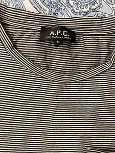 APC Striped T Shirt Medium M