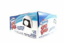 HOSTESS SNO BALLS FULL BOX OF 12 By the makers of TWINKIES  ZOMBIELAND SURVIVAL!