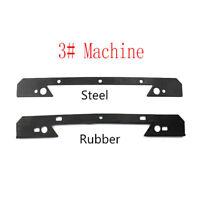 Bridgeport Milling Machine- Saddle Knee Wiper Plate Steel Rubber 346mm Mill Tool