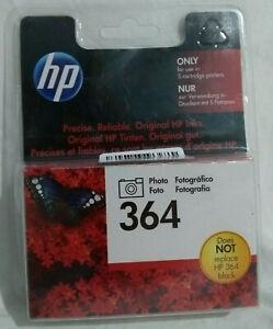 Genuine HP 364 Ink Photo Black for PhotoSmart 7510 7520 C309 C510 (CB317EE) UK