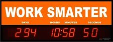 Digital LED Countdown Event Timer - WORK SMARTER   -  ETCD100-06