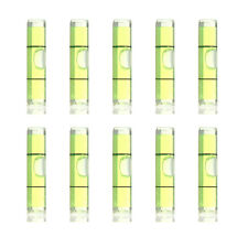 10pcs Mini Portable Tubular Transparent Bubble Spirit Level Measuring Tool 40mm