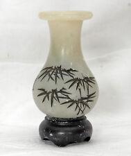 piccolo cinese Vaso in cinese stile CINA bambù circa 60 - anni 70 anni
