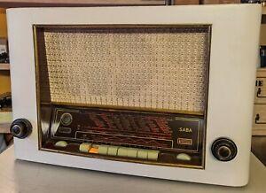 Vintage SABA Bodensee W III Röhrenradio Bj.1953/54 B