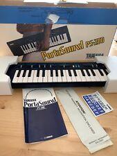 Yamaha Portasound Ps-200 Vintage Piano Keyboard Niob