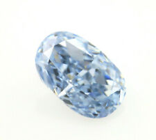 Type llB Blue Diamond - 0.16ct Natural Loose Fancy Intense Blue Color GIA RARE !
