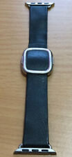 Genuine Official Apple Watch 38mm - 40mm Black Modern Buckle - Large