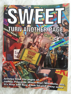 """THE SWEET Buch Bildband """"Turn Another Page"""" m. Poster Privatfotos Interviews!"""