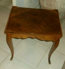 Baker Mahogany Rectangular Accent Table