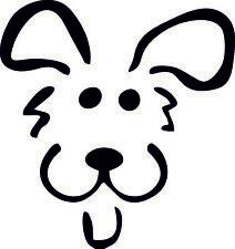 Hund Dog 2.0 Aufkleber Sticker 95x100mm