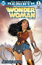 FREE COMIC BOOK DAY 2017 Wonder Woman Special Edition DC Rebirth