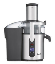 Breville the Froojie Fountain Citrus Juicer - Silver