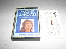 MICHEL SARDOU K7 AUDIO FRANCE LES RICAINS