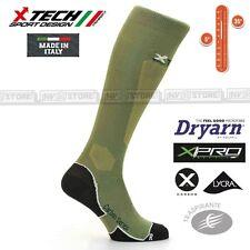 Calze XTECH Tecniche X-TECH SPORT XT25 Dryarn Carbon Resistex XPro Made in Italy