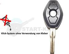 BMW Schlüssel Gehäuse E39 E38 E46 E36 Z3 Key Cle Chiave HU58 Diamant Form Oval