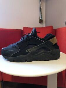 Nike Air Huarache 318429 025 Black/Metallic Gold ((size 11us 10uk 45eu))
