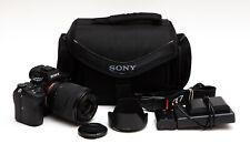 Sony Alpha A7 III A7III Mirrorless Camera + 28-70mm OSS Lens - Low Use!