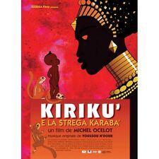 KIRIKU' E LA STREGA KARABA' CARTONI ANIMATI DVD NUOVO - CULT MEDIA-114827