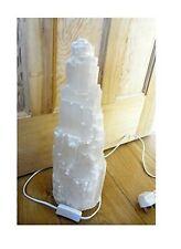 SELENITE CRYSTAL LAMP SNOW MOUNTAIN SOOTHING  3kg 30cm HEALING