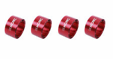 KCNC Hollow Design Road Mountain Bicycle Bike Headset Spacers 20mm 4pcs Red