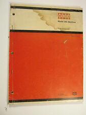 CASE 26C BACKHOE A1207 1973 PARTS CATALOG MANUAL