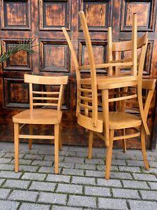 1/5 Frankfurter Stuhl Kaffeehaus Bar Cafe Vintage Restaurant Vollholzstuhl