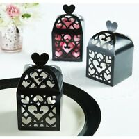 Amscan Black Cutout Lantern Favor Boxes (50 ct)  Wedding  Shower Party Supplies