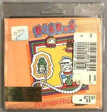 NEW DigDug Arcade Style Game Commodore 64 Disk clamshell&docs by DATAsoft(Namco)