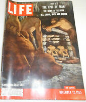 Life Magazine The Epic Of Man Part II Stone Age December 1955 072214R1