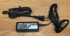 Genuine Toshiba (PA3822U-1ACA) 19V 2.37A AC Adapter / Power Supply **READ**