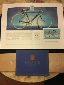 Vintage Bicycle - The Raleigh Catalogue 1936 - Golden Arrow, All Weather - RRA