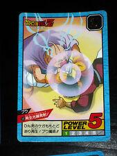 DRAGON BALL GT Z DBZ SUPER BATTLE POWER LEVEL CARDDASS CARD CARTE 590 JAPAN NM