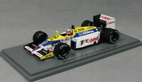 Spark Williams FW11 Belgian Grand Prix Win 1986 Nigel Mansell S7481 1/43 NEW