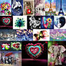 5D Diamond Painting Heart/Animal Embroidery DIY Mosaic Craft Cross Stitch Kits