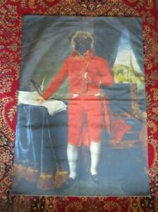 ROYAL ARISTOCRATIC PONCELET PUG STAGE COACH DRIVER WALL HANGING