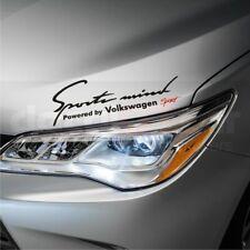 Sports mind Powered by Volkswagen Premium Stickers decals Golf GTi Passat CC