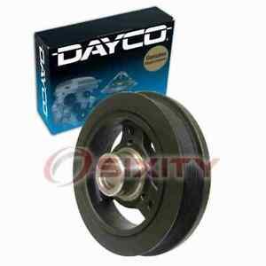 Dayco Engine Harmonic Balancer for 1997-2006 Jeep TJ 4.0L L6 Cylinder Block  ia