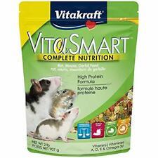 Vitakraft Vita Smart Rat/Mouse Food2 Lb Bag,Highest Bioavailability Of Nutrients