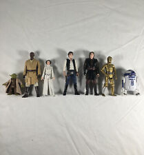 Star Wars Hasbro & Disney Various Action Figures Lot Of 7 With Accessories