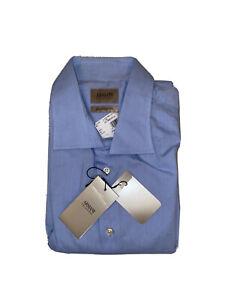"Armani Collezioni Mens  Size 17"" Blue Shirt"