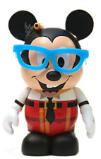 "Disney Nerds Rock  -  3"" Vinylmation ( Mickey Nerd )"