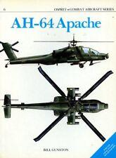 Osprey Combat Aircraft Series AH-64 Apache by Bill Gunston #6
